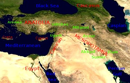 The ancient Near East refers to early civilizations in a region roughly corresponding to the modern Middle East: Mesopotamia (modern Iraq and Syria), Persia (modern Iran), Anatolia (modern Turkey), the Levant (modern Syria, Lebanon, Israel, Palestine, and Jordan), and Ancient Egypt, from the beginnings of Sumer in the 6th millennium BC until the region's conquest by Alexander the Great in the 4th century BC.The ancient Near East is considered the cradle of civilization. It was the first to practice intensive year-round agriculture; it produced the first writing system, invented the potter's wheel and then the vehicular- and mill wheels, created the first centralized governments, law codes and empires, as well as introducing social stratification, slavery and organized warfare, and it laid the foundation for the fields of mathematics, medicine and astronomy.